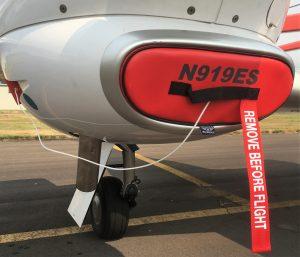 DA42 Engine Inlet Plugs